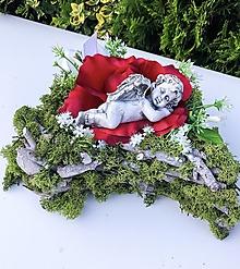 Dekorácie - Spomieková dekorácia - srdiečko - 12495678_