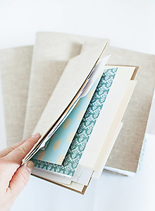 Papiernictvo - Jurnal zápisník na vlastné dotvorenie - 12499488_