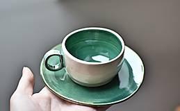"""Nádoby - Šálka """"verde"""" - 12499222_"""