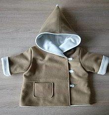 Detské oblečenie - Kabátik vlnený - 12497315_