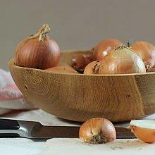 Nádoby - miska z dubového dreva - 12497212_