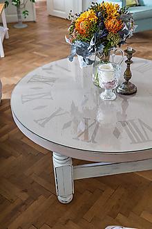 Nábytok - Hodinový konferenčný stôl - 12497636_