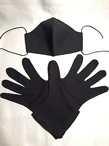 Rúška - Ochranné rúško a rukavice - sada - 12499306_