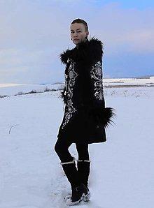 Kabáty - Ručne maľovaný kabát - 12498470_
