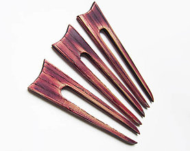 Ozdoby do vlasov - Drevená ihlica do vlasov - 12500474_