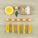 Svietidlá a sviečky - Pomaranč vonný vosk - silica - 12504436_