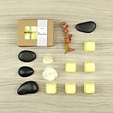 Svietidlá a sviečky - Ylang-ylang vonný vosk - silica - 12504482_