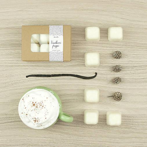 Vanilkové frappé vonný vosk
