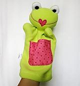 Maňuška žaba - Žabka z Ružového srdiečkova
