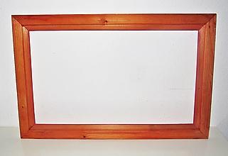 Rámiky - Rám z dreva - 58,5 cm x 37,5 cm - 12500064_