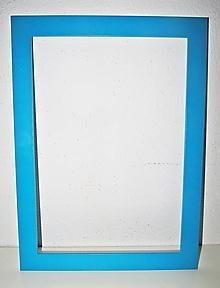 Rámiky - Tyrkys rám na obrazy, obrázky - 33,5 cm x 24,5 cm - 12505179_