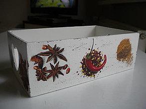 Krabičky - Krabička na ingrediencie - 12503450_