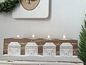 Svietidlá a sviečky - Svietnik Chalúpkovo - 12500462_