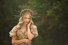 """- Obojstranná korunka """"kráľovna jesenných dní""""  - 12503245_"""