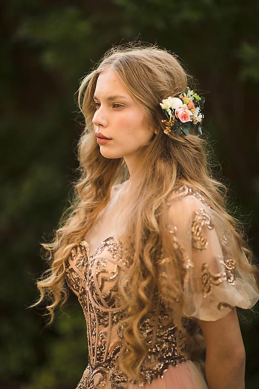 """Kvetinový hrebienok """"láskavé pohladenie"""""""