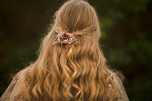 """Kvetinová spona """"šum lásky"""""""