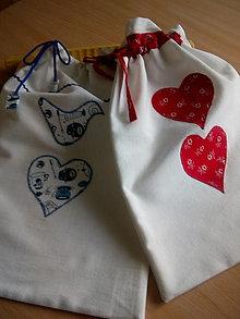 Úžitkový textil - vrecko na chlieb - 12503911_