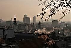 Fotografie - Východ slnka v bratislavskej hmle - 12504001_