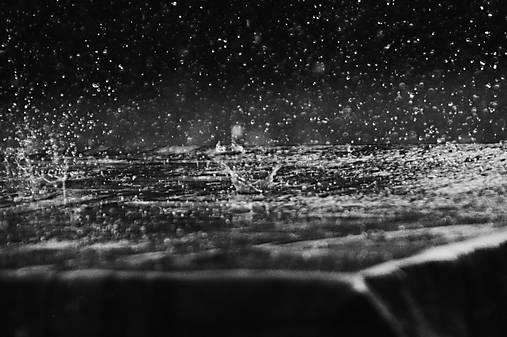 Za dažďa
