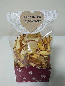 Potraviny - Domáce jablkové lupienky - vianočné - 12500094_