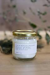 Svietidlá a sviečky - Sójová sviečka - Čistá neparfumovaná - 12501525_