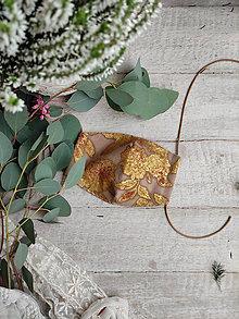 Rúška - Dámské dvouvrstvé rúško - Renaissance - 12509014_