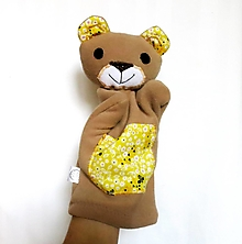 Hračky - Maňuška medveď - Macko od Včelej doliny - 12505457_