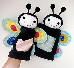 Hračky - Maňuška motýľ - Motýlik od Sladkej lúky - 12508139_