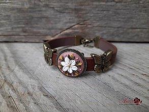 Náramky - Náramok Butterfly - 12507108_