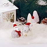 Dekorácie - Vianočná ovečka - 12508694_