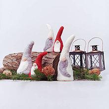 Dekorácie - Vianočný škriatok - 12507778_