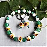 Sady šperkov - Žiarivé slniečka - 12511114_