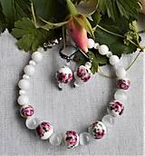 Sady šperkov - Nežné ruže - 12511147_