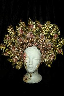 Ozdoby do vlasov - Koruna  Vitaj jeseň - 12510519_