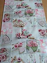 Úžitkový textil - Obrus -štóla love - 12511484_