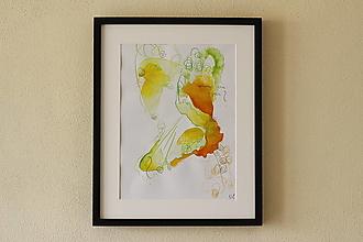 Obrazy - where are you? . akvarel na výkrese . A3 . - 12511559_