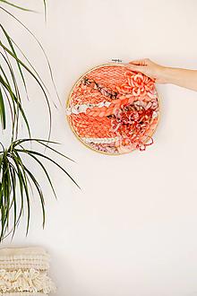Dekorácie - Ručne tkaná vlnená tapiséria - 12512291_