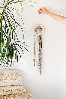Dekorácie - Ručne tkaná vlnená tapiséria - 12512338_