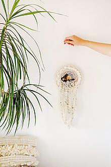 Dekorácie - Ručne tkaná vlnená tapiséria - 12512482_