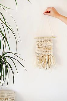 Dekorácie - Ručne tkaná vlnená tapiséria - 12512515_