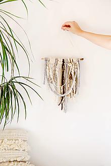 Dekorácie - Ručne tkaná vlnená tapiséria - 12513430_