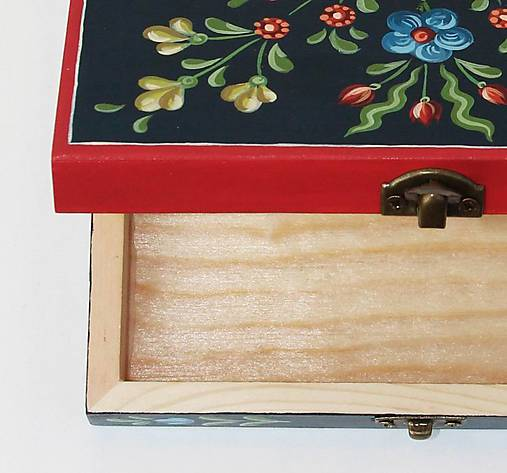 Ručne maľovaná šperkovnica - darčekové balenie