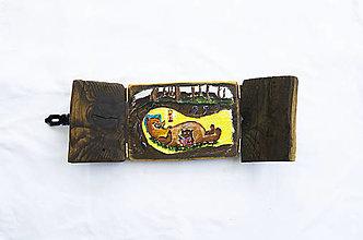 Obrazy - Čaropríbeh starého dreva - Medveď - 12512461_