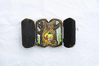 Obrazy - Čaropríbeh starého dreva - Veverička - 12512465_