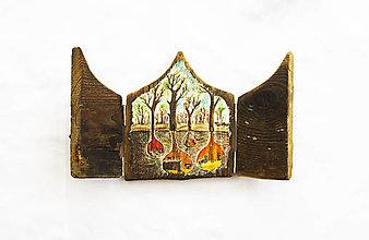 Obrazy - Čaropríbeh starého dreva - V podzemí - 12512467_
