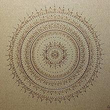 Obrazy - Mandala RUSTIKAL NATUR 60 x 60 - 12513456_