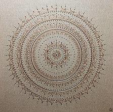 Obrazy - Mandala RUSTIKAL NATUR 60 x 60 - 12513460_