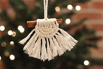 Dekorácie - Indiánske vianočné ozdoby - 12509467_