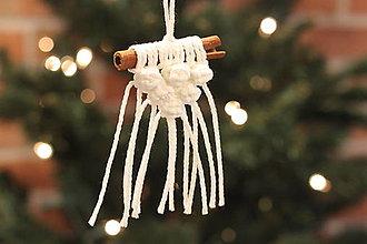 Dekorácie - Prírodné vianočné ozdoby - 12509554_