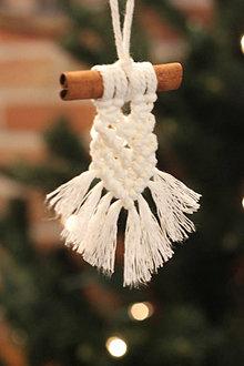 Dekorácie - Handmade vianočné ozdoby - 12509672_